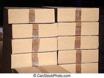 箱子, 堆