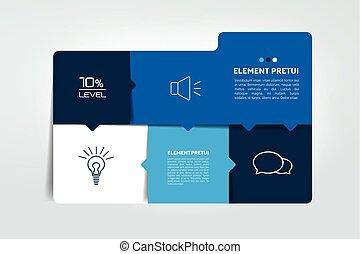 箱子, 時間表, 圖表, 桌子,  infographics, 元素