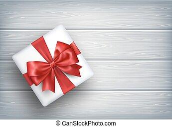箱子, 木制, 禮物, 禮物弓