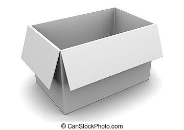 箱子, 空