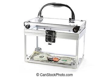 箱, お金, ゆとり