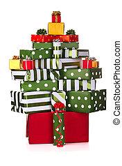 箱, クリスマスの ギフト