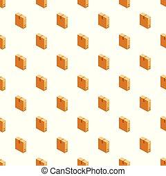箱, パターン, ベクトル, seamless