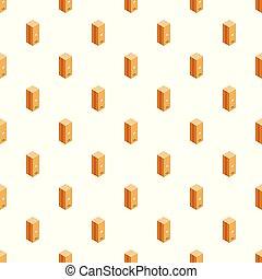 箱, パターン, ポスト, ベクトル, seamless