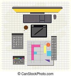 箱, パレット, 色, 道具, デスクトップ, 環境, コンピュータ, デザイン, 背景, 格子