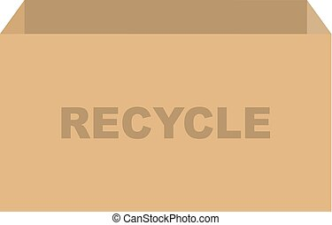 箱, リサイクル, ベクトル