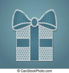 箱, レース, プレゼント