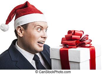 箱, 保有物, 贈り物, 人