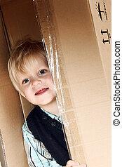 箱, 子供