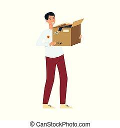 箱, 寄付, 衣服, 保有物, ボランティア