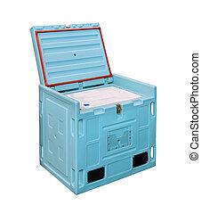 箱, 寒い, ロジスティックである