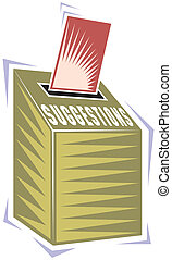 箱, 投票