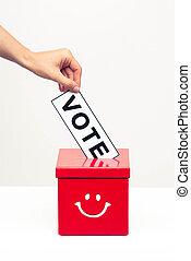 箱, 概念, 投票, 選挙