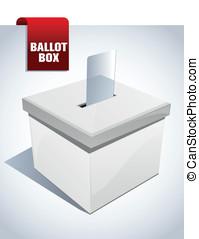 箱, 白, 選択