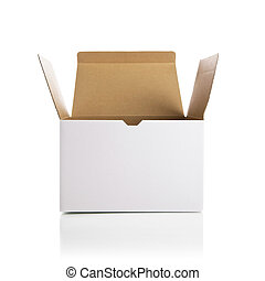 箱, 白, 開始