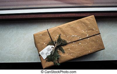 箱, 窓, 贈り物