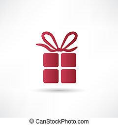 箱, 贈り物, アイコン