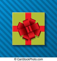箱, 贈り物, ベクトル