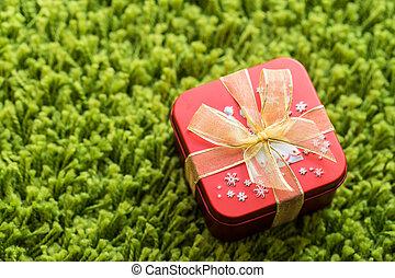 箱, 赤, 贈り物