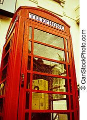 箱, 電話