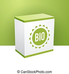 箱, bio, 動機, 緑の白
