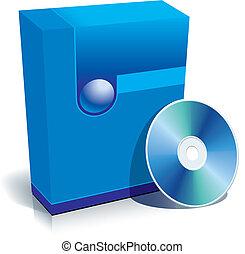 箱, cd