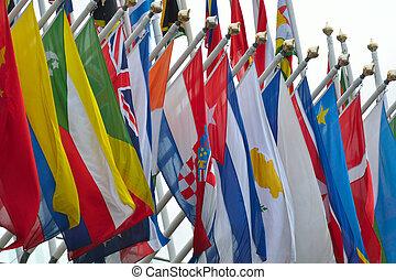 範囲, の, 国民, 旗