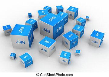 範囲, 立方体, com, 点