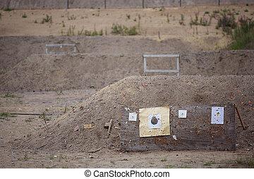 範圍, 為了射擊目標