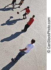篮球, 街道