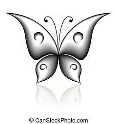 簡單地, 蝴蝶