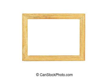 簡單, 木制, 照片框架
