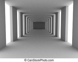 簡單, 走廊