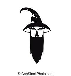 簡單, 風格, 巫術師, 圖象