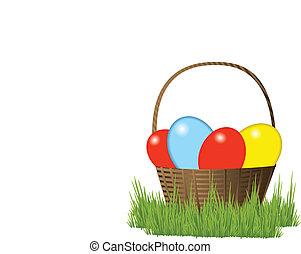 籃子, 復活節