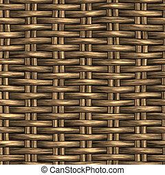 籃子, 柳條, 編織