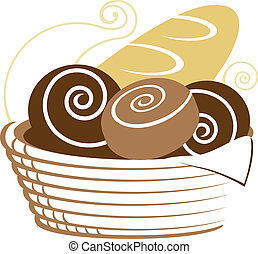 籃子, bread