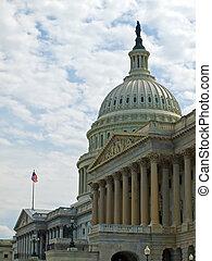米国の 国会議事堂, 建物, 中に, washington d.c.