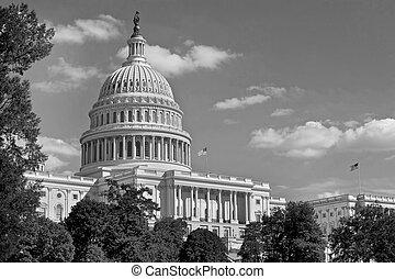 米国の 首都, 建物。