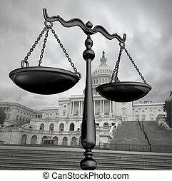米国 政府, 立法