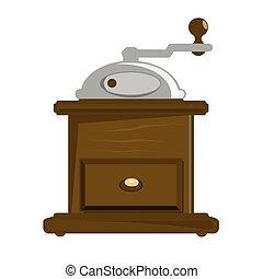 粉砕器, コーヒー, マニュアル