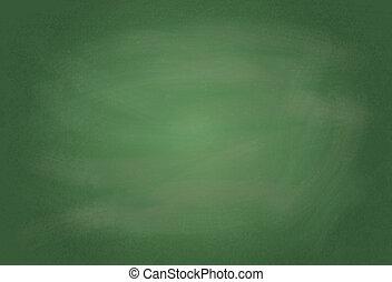 粉笔板, 描述, 空白