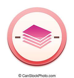 粉紅色, 圖象, the, 整體, 系列, 在上方, 300, selectable