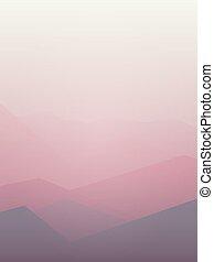 粉紅色, 山