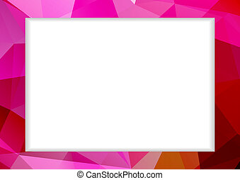 粉紅色, 摘要, 框架