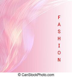 粉紅色, 時裝, 有吸引力, 背景, 線, 措詞