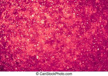 粉紅色, 發光, 星, 背景
