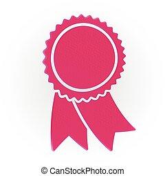 粉紅色, 胜利者, 獎章