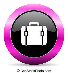粉紅色, 袋子, 有光澤, 圖象