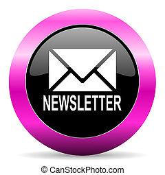 粉紅色,  newsletter, 有光澤, 圖象